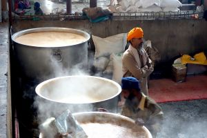 Golden temple community kitchen, Amritsar, India