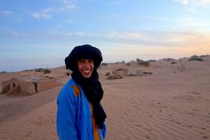 Tuareg in Sahara
