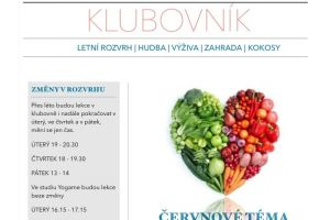 newsletter klubovny Happy Go Lucky