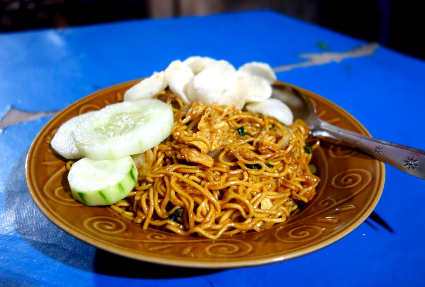 Mie Goreng Ayam Fried Noodles With Chicken Indonesia Exotic Recipes Authentic World Food