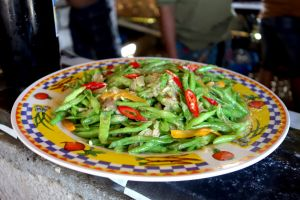 Stir fried mixed vegetables - Oseng oseng tumis sayuran