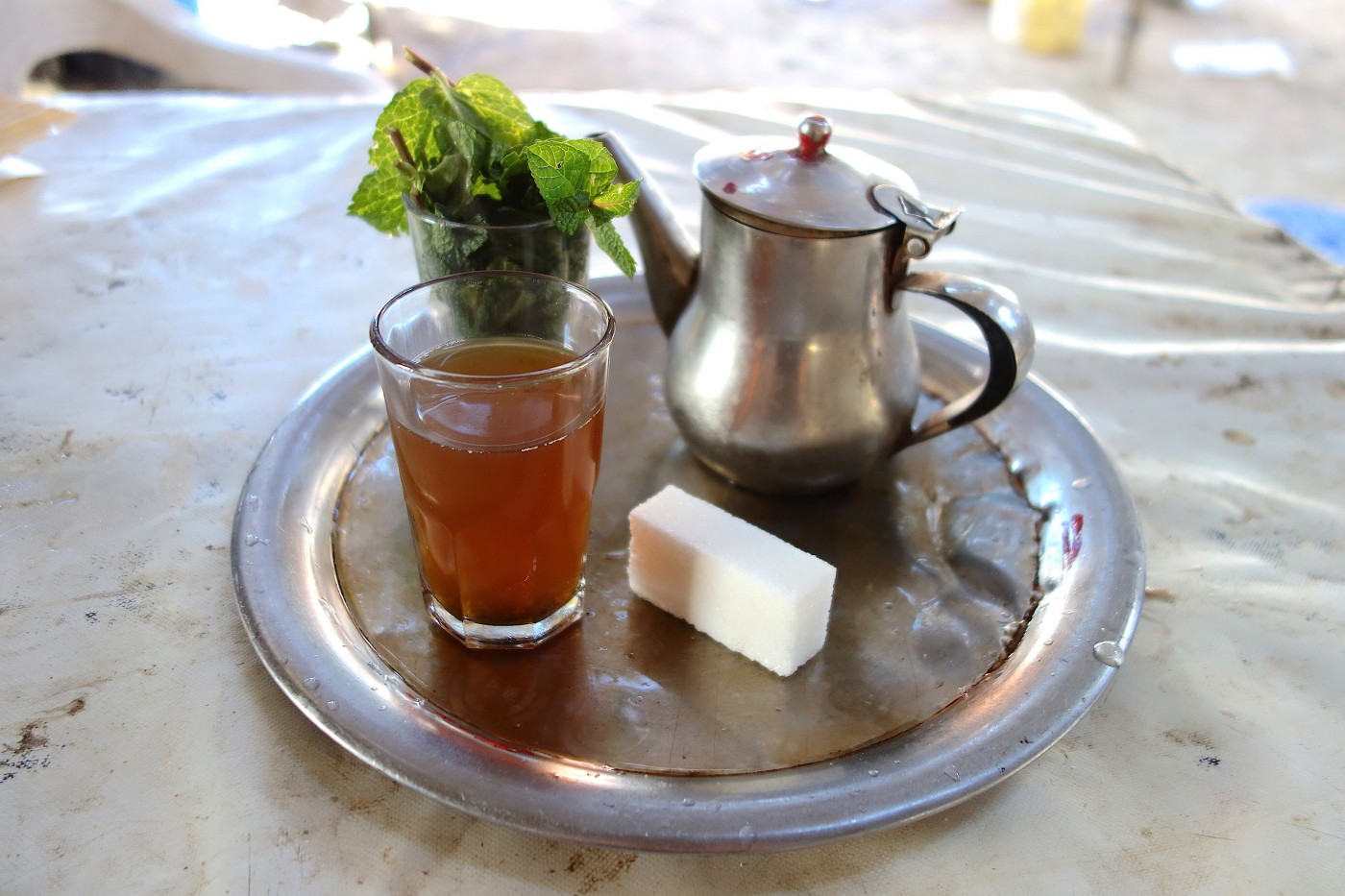 Moroccan Whiskey Moroccan Tea With Mint Or Wormwood