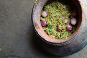 Achcharu - Green papaya pickle