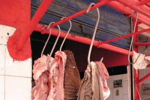 At the butcher`s in Morocco - by Authentic World Food